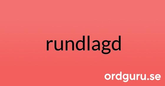 rundlagd på ordguru.se