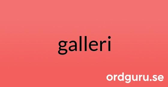 galleri på ordguru.se