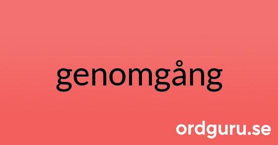 genomgång på ordguru.se